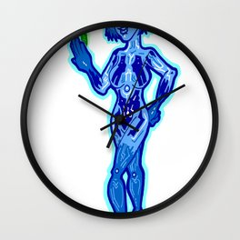 A Little AI role Reversal can help any relationship!  Cortana and Master Chief: Happy Halo Couple? Wall Clock