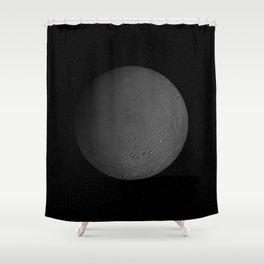 Enceladus Shower Curtain