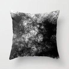 Artificial Constellation Dark Matter Throw Pillow