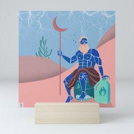 Poseidon Mini Art Print