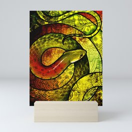 Red-Necked Keelback Mini Art Print