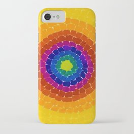 Classical African-American Masterpiece 'Resurrection' by Alma Thomas iPhone Case