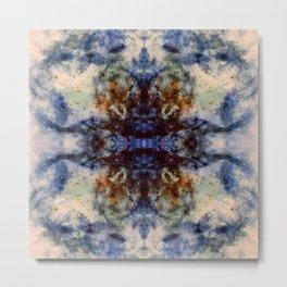 Nishiki - Abstract Space Mandala Metal Print