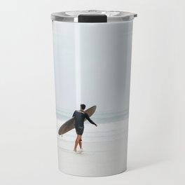 Contrasting Surfer Travel Mug