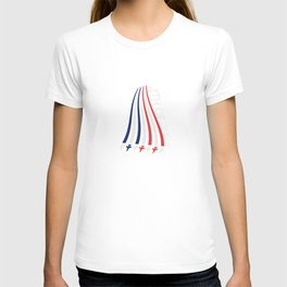 Jets with Stars and Stripes T-shirt