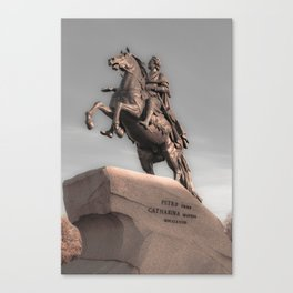 Peter the Great Canvas Print