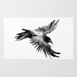Flying Raven Rug