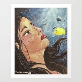 Deep Blue - Ocean Art Print