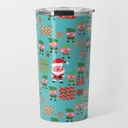 Santa's Workshop Travel Mug