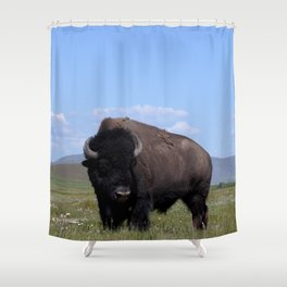 King of the Plains Shower Curtain