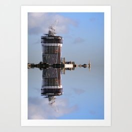 Sea Tower Art Print