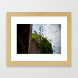 Urban Street Light Framed Art Print