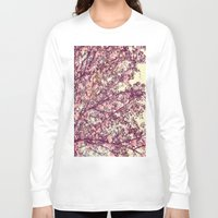 sofa Long Sleeve T-shirts featuring floral sofa by vibeyantlers