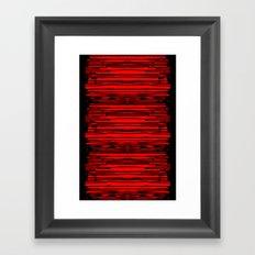 RedRain Framed Art Print