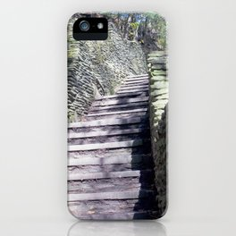 Stairs to Happiness iPhone Case