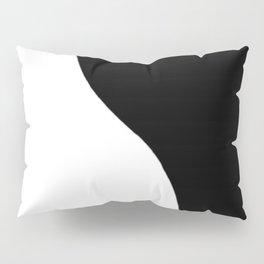 Yin and Yang BW Pillow Sham