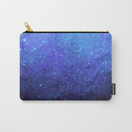 Blue Heavens: Vibrant Starfield Carry-All Pouch