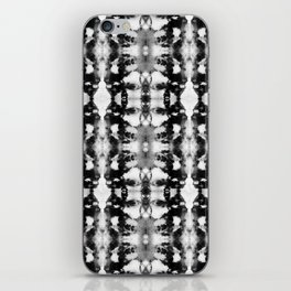 Tie-Dye Blacks & Whites iPhone Skin