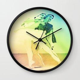 Pastel Ballet Wall Clock