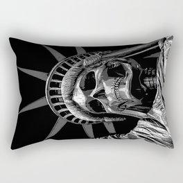Liberty or Death B&W Rectangular Pillow