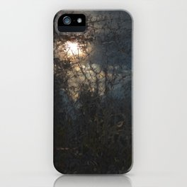 New Year's Moonlit River iPhone Case