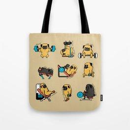 Pug Leg Day Tote Bag