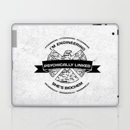 fitzsimmons - psychically linked Laptop & iPad Skin
