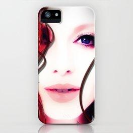 Christina Hendricks Up Close iPhone Case