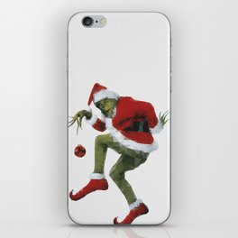 Christmas Grinch iPhone Skin