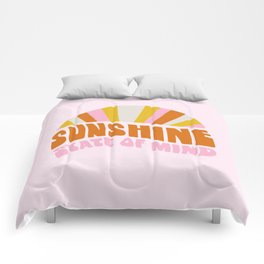 sunshine state of mind, type Comforters