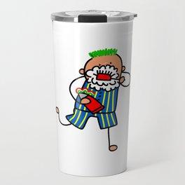 Brushing Teeth Boy Travel Mug
