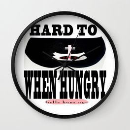 bbnyc call for end to world hunger Wall Clock