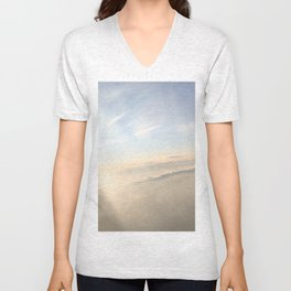 floating on the sky Unisex V-Neck
