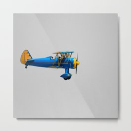 Summer plane Metal Print