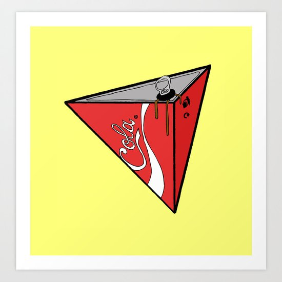 COLA CAN Art Print