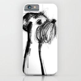 Little minischnauzer iPhone Case