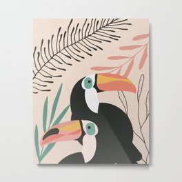 Tucan Tropical Metal Print