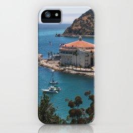 Avalon Bay, Catalina Casino iPhone Case