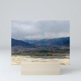Tibet: Storm on Lhasa river Mini Art Print