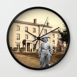 Child Astronaut Wall Clock
