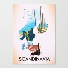 Scandinavia Canvas Print