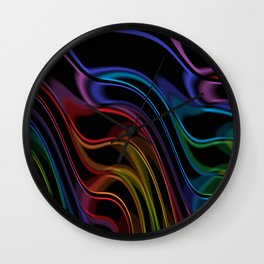 Transparency In Motion  Wall Clock