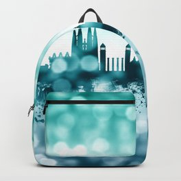 Barcelona Spain Skyline Backpack