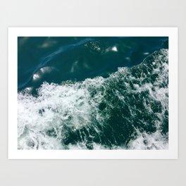 Waves in Dakar Art Print