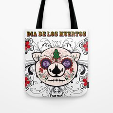 Berto: Dia de los muertos (Day of the dead) Tote Bag