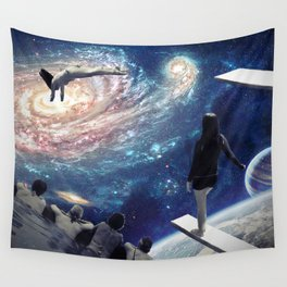 Swimming Pool Wall Tapestry