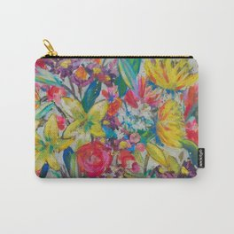 Big Bold Blooms Carry-All Pouch