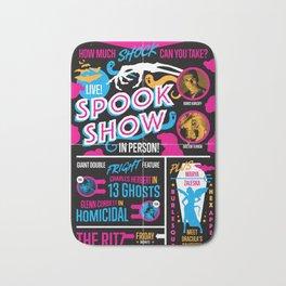 Spook Show Tribute Poster 01 Bath Mat
