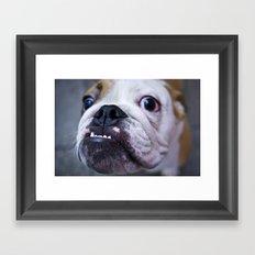 Got a problem? Framed Art Print