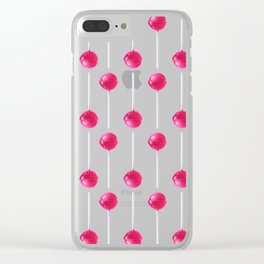Lollipop Clear iPhone Case